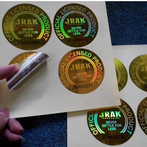 OEM Design Colorful Multi Spectrum Hologram Labels,Authenticity multi spectrum hologram sticker,multi spectrum security labels
